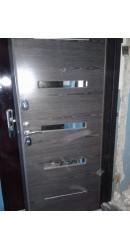 Дверь металлическая с зеркалом vr014